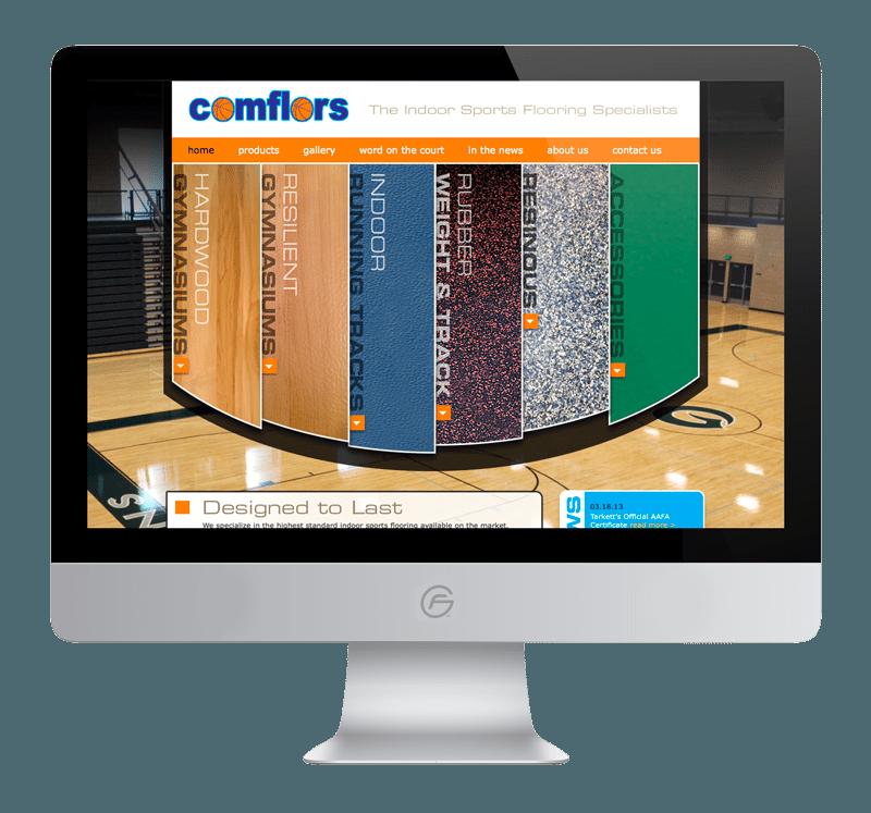 Comflors Website